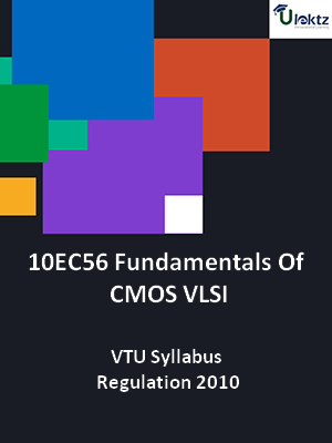 Fundamentals Of CMOS VLSI - Syllabus