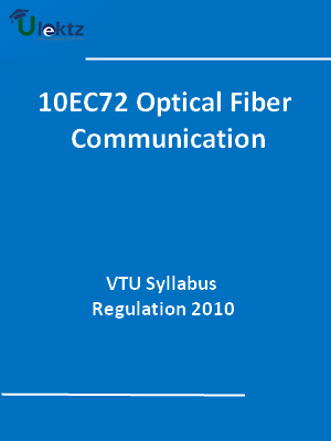 Optical Fiber Communication - Syllabus