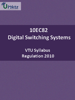 Digital Switching Systems - Syllabus