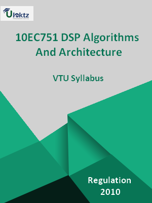 DSP Algorithms And Architecture - Syllabus