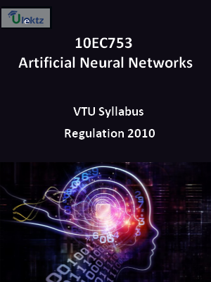 Artificial Neural Networks - Syllabus