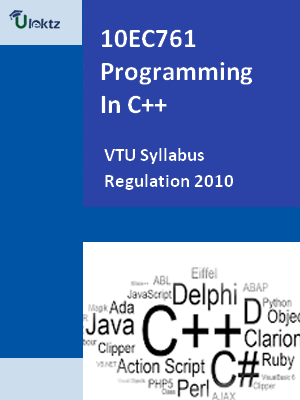 Programming In C++ - Syllabus