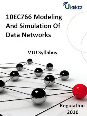 Modeling And Simulation Of Data Networks - Syllabus