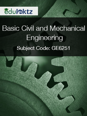 Important Question for Basic Civil And Mechanical Engineering