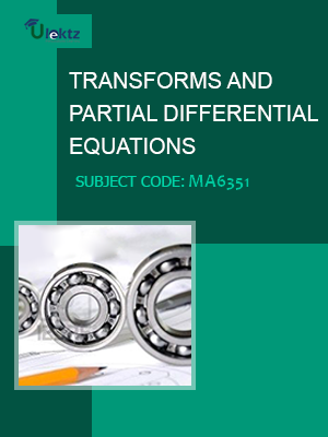 Important Question for TRANSFORMS AND PARTIAL DIFFERENTIAL EQUATIONS
