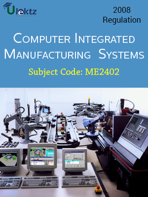 Important Question for COMPUTER INTEGRATED MANUFACTURING