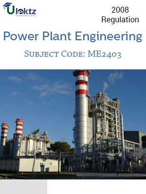 Important Question for POWER PLANT ENGINEERING