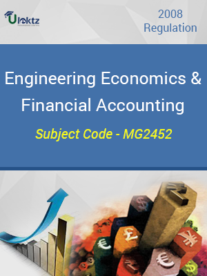 Important Question for Engineering Economics And Financial Accounting
