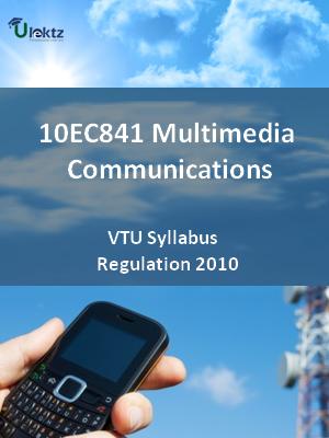 Multimedia Communications - Syllabus