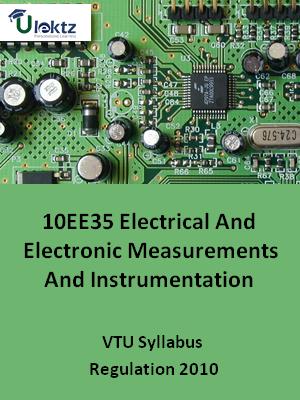 Electrical And Electronic Measurements And Instrumentation - Syllabus