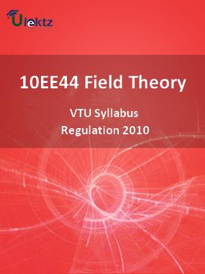Field Theory - Syllabus