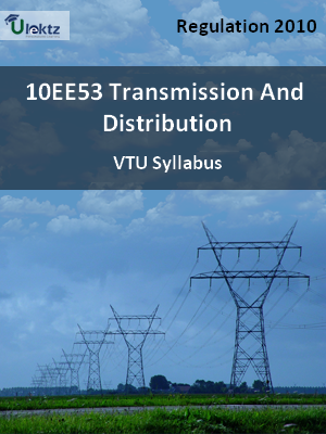 Transmission And Distribution - Syllabus