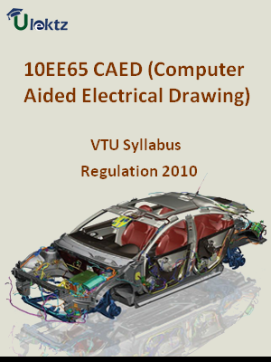 CAED (Computer Aided Electrical Drawing) - Syllabus
