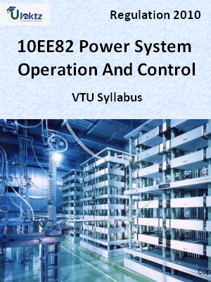 Power System Operation And Control - Syllabus