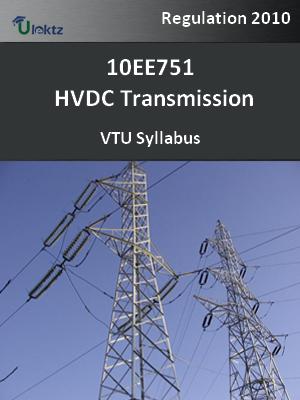 HVDC Transmission - Syllabus