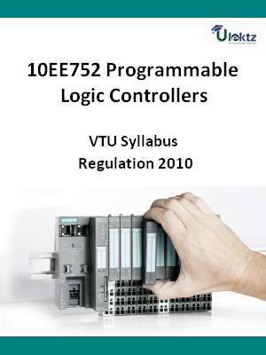Programmable Logic Controllers - Syllabus