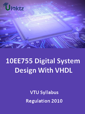 Digital System Design With VHDL - Syllabus