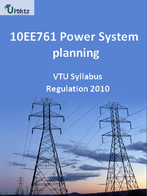 Power System planning - Syllabus