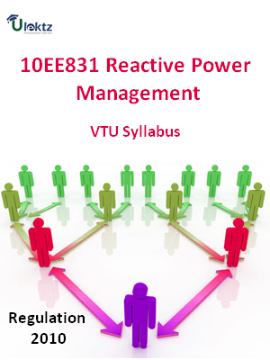 Reactive Power Management - Syllabus