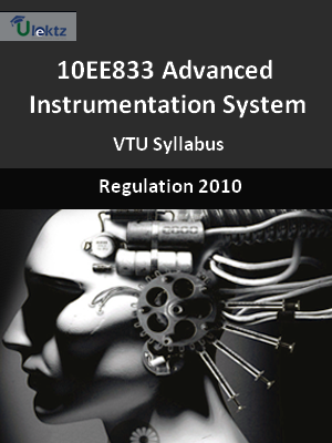 Advanced Instrumentation System - Syllabus