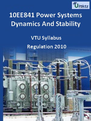 Power Systems Dynamics And Stability - Syllabus