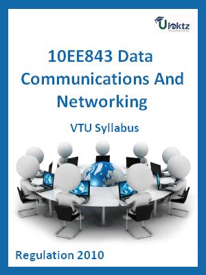 Data Communications And Networking - Syllabus