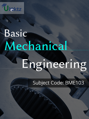 Important Questions for BASIC MECHANICAL ENGINEERING