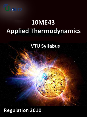 Applied Thermodynamics - Syllabus
