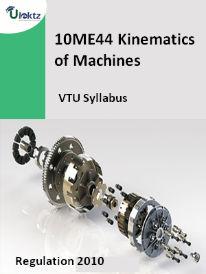 Kinematics of Machines - Syllabus