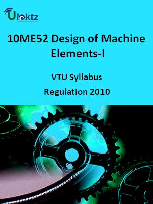 Design of Machine Elements-I - Syllabus