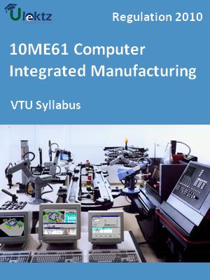 Computer Integrated Manufacturing - Syllabus