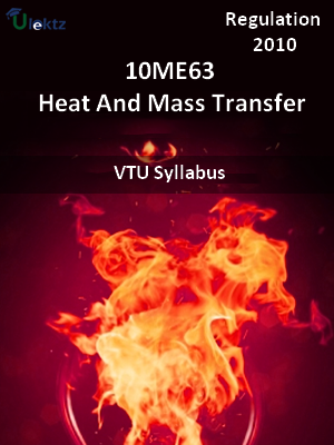 Heat And Mass Transfer - Syllabus