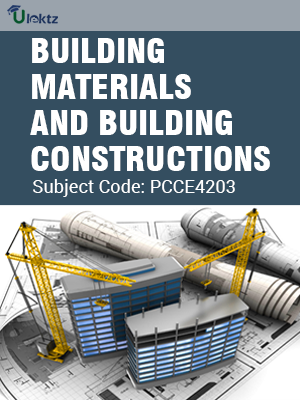 Important Questions for BUILDING MATERIALS AND BUILDING CONSTRUCTIONS