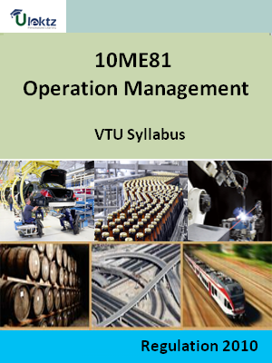 Operation Management - Syllabus
