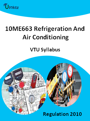 Refrigeration And Air Conditioning - Syllabus