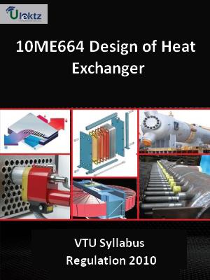 Design of Heat Exchanger - Syllabus