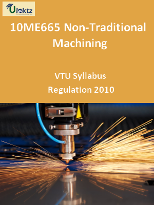 Non-Traditional Machining - Syllabus