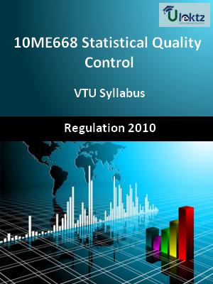 Statistical Quality Control - Syllabus