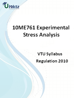 Experimental Stress Analysis - Syllabus