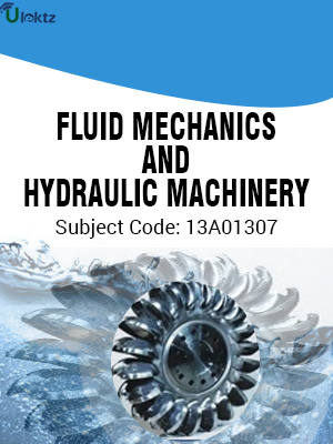 Important Questions for  FLUID MECHANICS HYDRAULIC MACHINERY