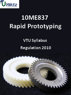 Rapid Prototyping - Syllabus