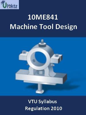 Machine Tool Design - Syllabus