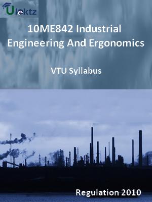 Industrial Engineering And Ergonomics - Syllabus