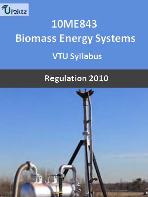 Biomass Energy Systems - Syllabus