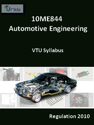 Automotive Engineering - Syllabus