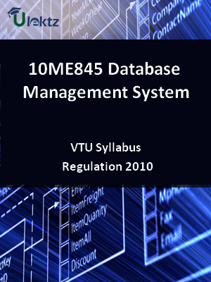 Database Management System - Syllabus