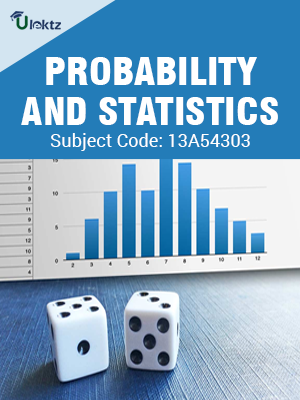Important Question for  PROBABILITY AND STATISTICS