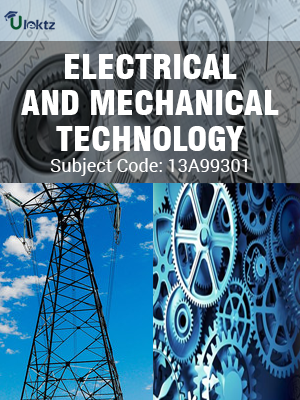 Important Question for ELECTRICAL-MECHANICAL-TECHNOLOGY