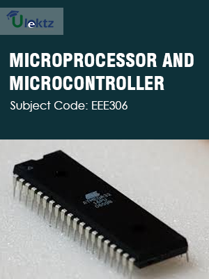 Important Question for MICROPROCESSOR AND MICROCONTROLLER