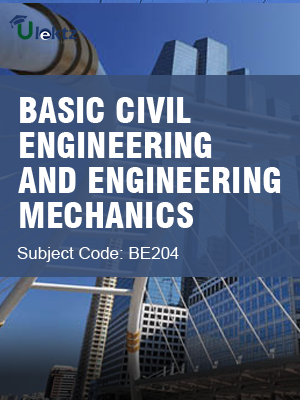 Important Question for BASIC CIVIL ENGINEERING AND ENGINEERING MECHANICS